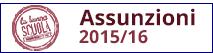Assunzioni buona scuola 2015/16